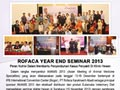 ROFACA Year End Seminar 2013