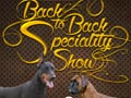 Pameran Anjing Boxer & Dobermann Back To Back