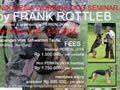 Working Dog Seminar Bersama Frank Rottleb