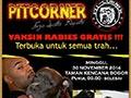 Vaksin Rabies Gratis Bersama PitCorner