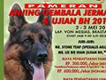 Pameran Anjing Herder & Ujian BH Medan 2015